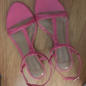 Talbots women 8 wedge sandals NWT